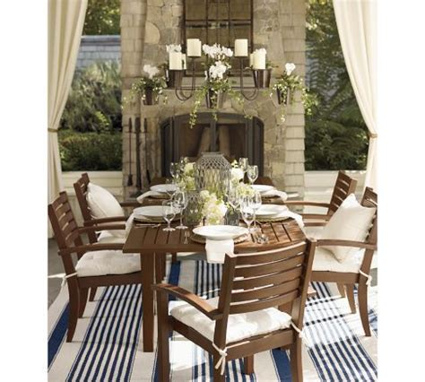 Outdoor Dining Sets Pottery Barn 17 Best Images About Outdoor Mirrors On