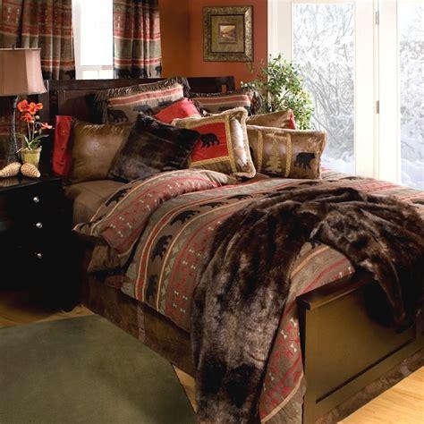 bears comforter set bear country comforter sets