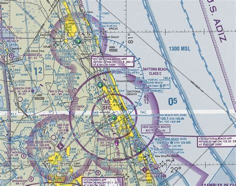 us sectional charts sectional aeronautical chart daytona beach florida us