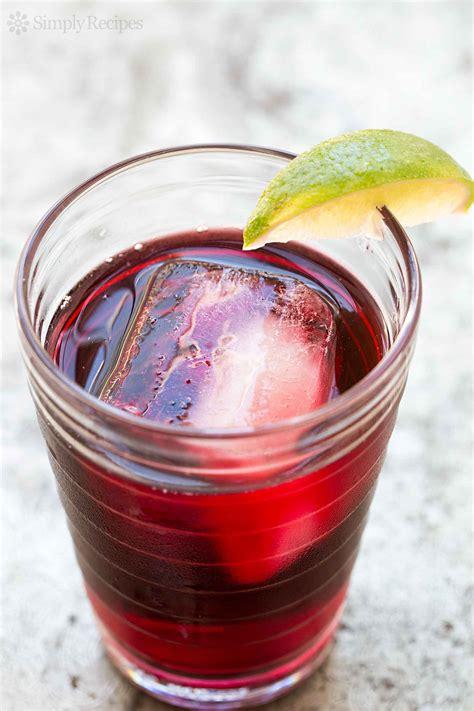 agua de jamaica hibiscus tea recipe simplyrecipes com