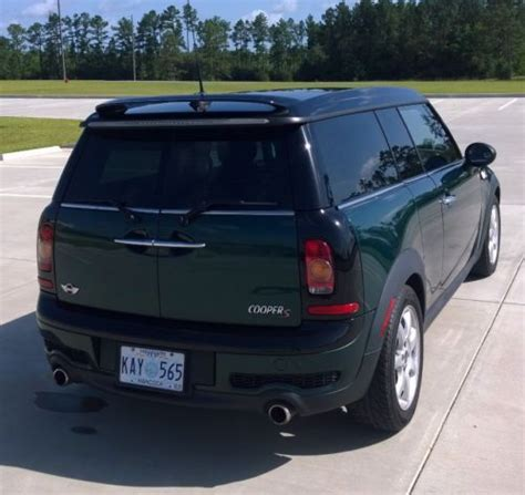best car repair manuals 2009 mini clubman auto manual purchase used 2009 mini cooper clubman s 1 6l turbo manual excellent british racing green 61k in