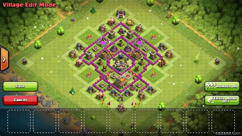 layout coc anti giant clash of clans guide th7 farming base knoxx anti
