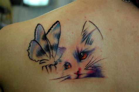 tattoo love cat amazing 3d cat tattoos