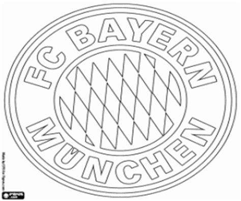 ausmalbilder bayern münchen emblem zum ausdrucken