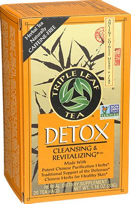 Tripple Leaf Detox Tea Sugar Cravings detox leaf tea