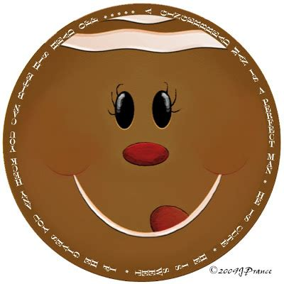 printable gingerbread man face crafty this and that gingerbread man