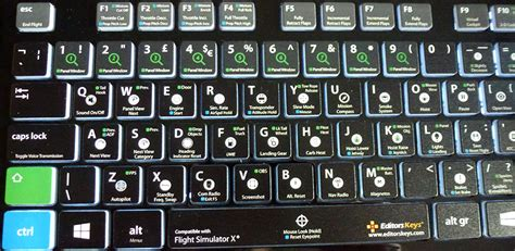 fsx keyboard template editors fsx keyboard