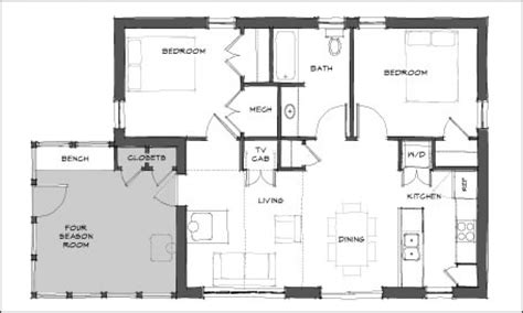 mini home floor plans mini house floor plans modern tiny house floor plans