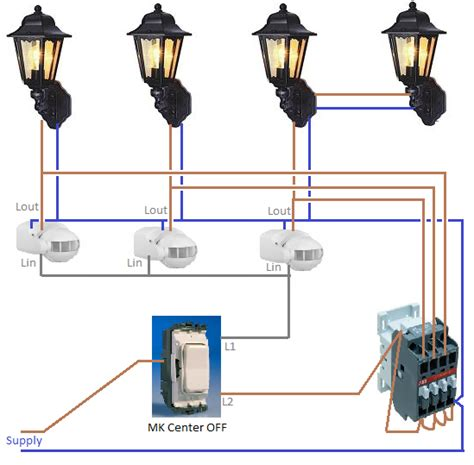 Outside Light Pir Wiring Diagram Wiring Diagram How To Wire Outdoor Lights