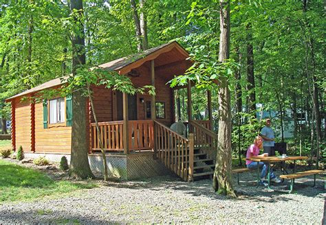Cabin Rentals Near Pittsburgh by Jellystone Park At Kozy Rest Rentals