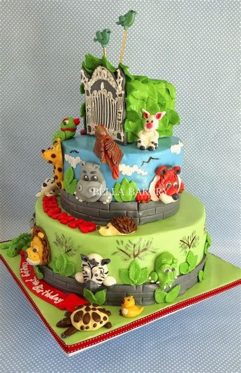 wedding cake zoo zoo cake