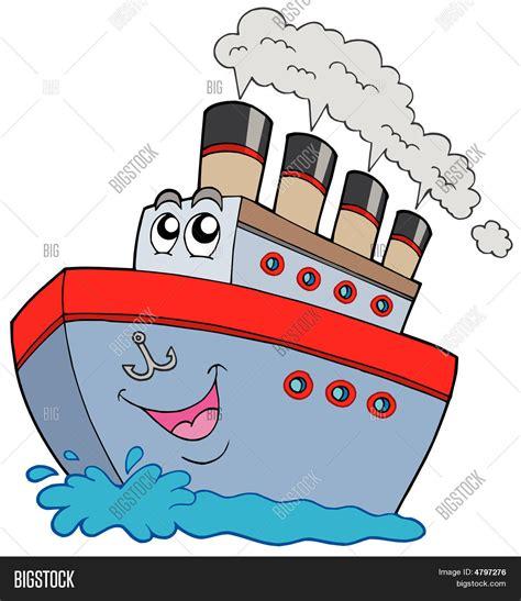 cartoon boat background cartoon boat stock vector stock photos bigstock