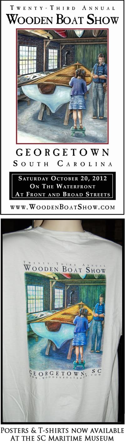 boat show october coasting the lowcountry georgetown wooden boat show