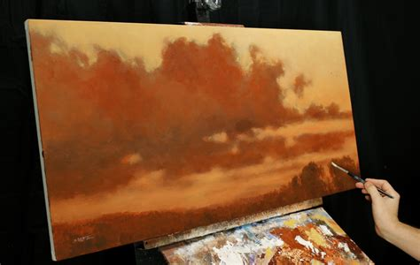 free painting lesson when it all goes acrylic painting lesson