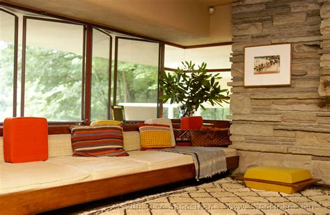 falling water interior falling water frank lloyd wright s masterpiece