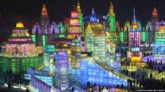Ice City by In Pictures Amazing Ice City Opens In Harbin China