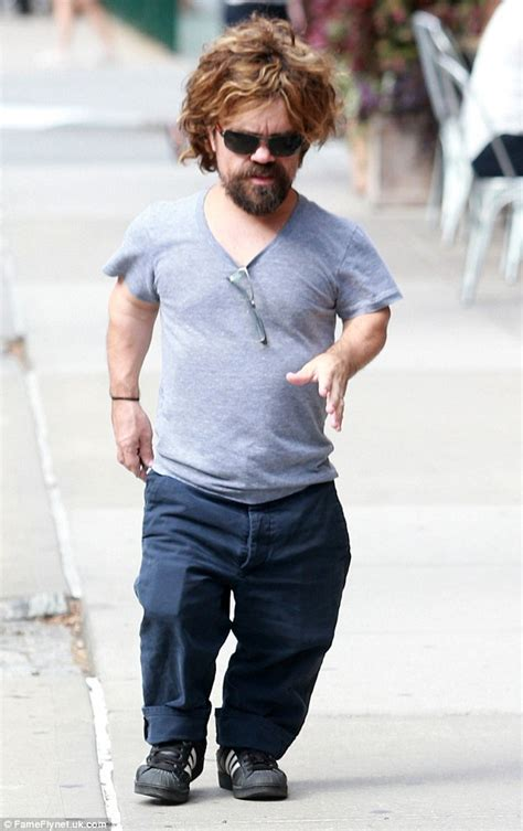 actor midget game of thrones game of thrones actor peter dinklage on a stroll with wife