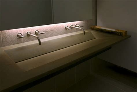recycled concrete sink by gore design interesting custom