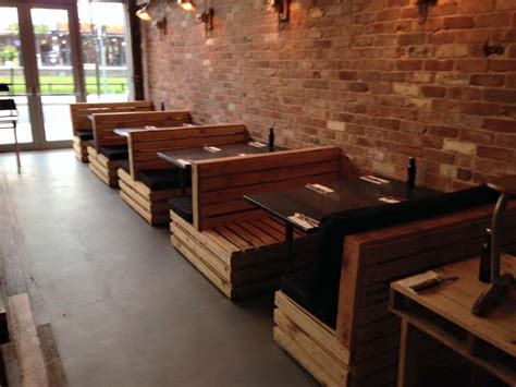 Legless Chair Pallet Seating Set For Restaurant Pallet Furniture Plans