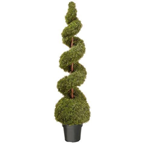 National Tree Company 60 in. Cedar Spiral Artificial Tree