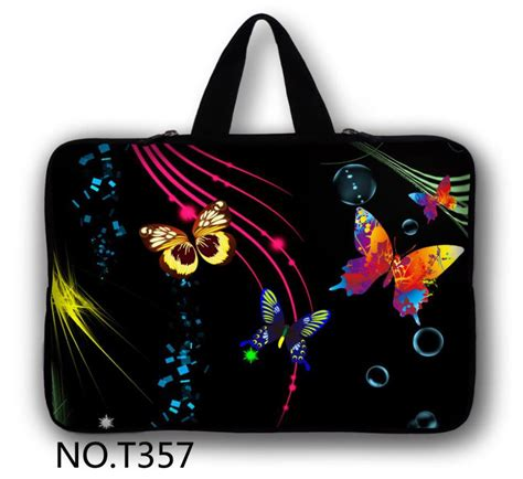 Pouch Hp Sarung Hp Butterfly butterfly 14 quot laptop sleeve carry bag pc cover for toshiba satellite u945 hp dell xps in