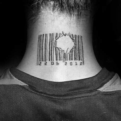 30 barcode tattoo designs f 252 r m 228 nner parallel line ink