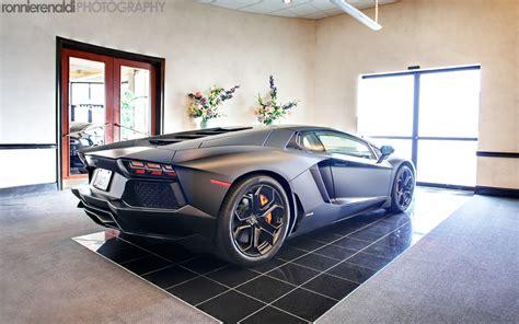 Lamborghini Aventador Matte Lamborghini Aventador In Matte Black The Details