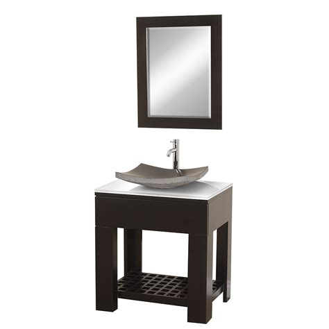 30 quot zen ii 30 espresso bathroom vanity bathroom
