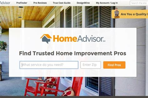 we talk to homeadvisor about their service to help you
