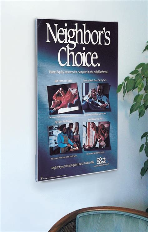 Acrylic Frame Poster acrylic poster displays frameless wall mount holder