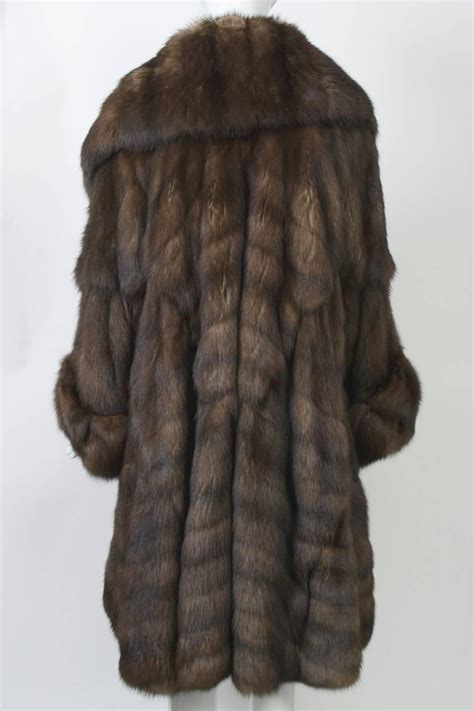 swing coats for sale fendi sable swing coat for sale at 1stdibs