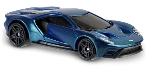 Hotwheels 2017 Ford Gt 2017 ford gt in blue hw exotics car collector wheels