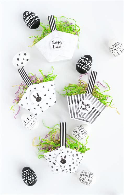 Free Printable Easter Baskets