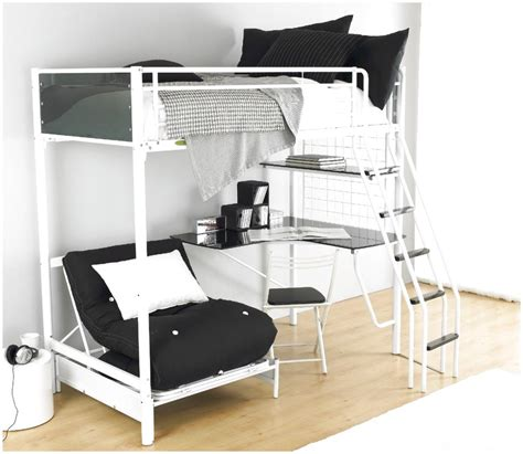 Teen Loft Beds Coaster Cool Beds That Are On The Table To Bed And Desk