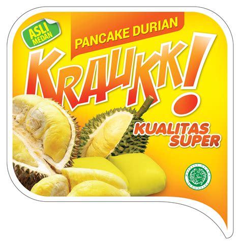 Pancake Durian Isi 6 Mini produk pancake durian mini original kraukk belanja