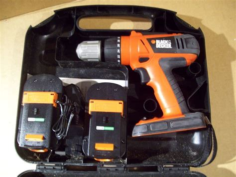 charger for a black and decker cordless drill black decker 18v cordless drill hpd1800 w battery and