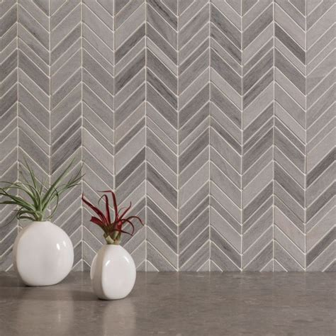 Origami Tile - akdo origami collection nami mosaic marble luxury