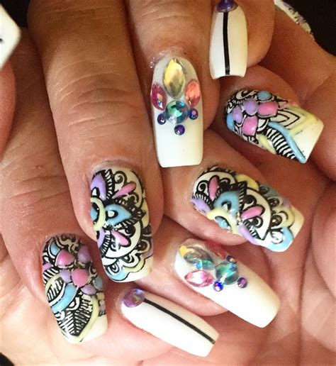 day  puff gel nail art nails magazine