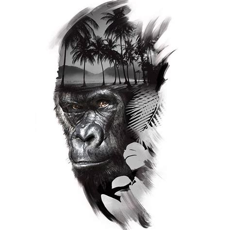 design gorilla tattoo on instagram