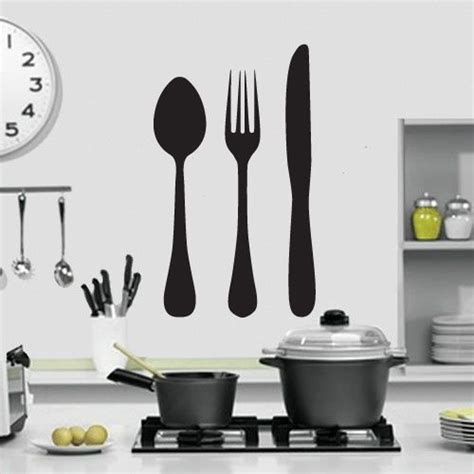kitchen forks and knives details about knife fork and spoon kitchen wall design