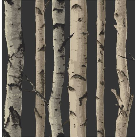 wallpaper trees gold buy fine decor birch tree wallpaper gold brown
