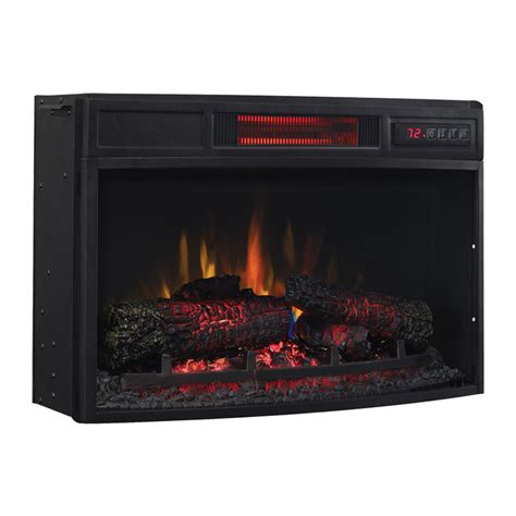 classicflame 25 in infrared spectrafire curved electric