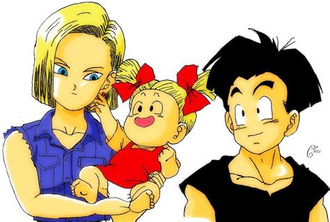 krillin and android 18 krillin a18 marron d by chito1004 on deviantart