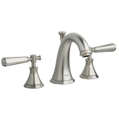 Kensington Brass Faucets by Grohe 20124 En0 Kensington Three Bath Faucet