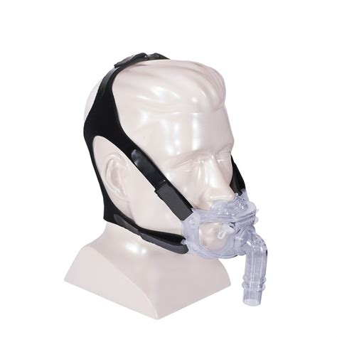 hybrid cpap mask with nasal pillows and headgear