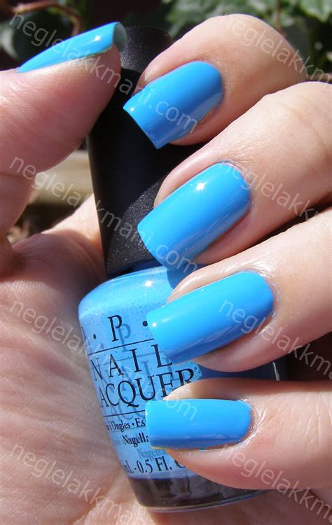 opi no room for the blues notd opi no room for the blues