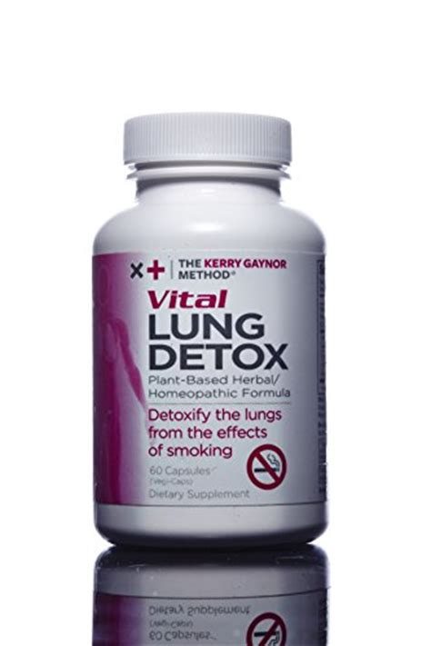 Quit Detox Cleanse by The Kerry Gaynor Method Vital Lung Detox Plant Based