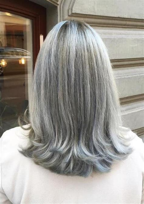 med to short haircut layers for gray over 60 90 classy and simple short hairstyles for women over 50