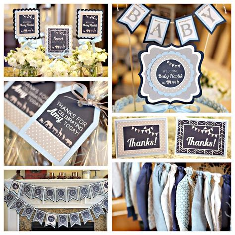 Blue Zoo Baby Shower Decorations by 27 Best Images About Modern Zoo Baby Shower On