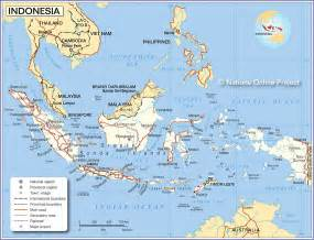 Indonesia Map World by Map Of Indonesia Nations Online Project